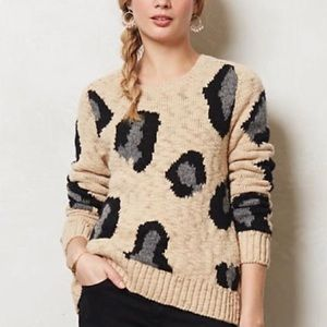 Anthropologie Sleeping on the Snow Sweater Small